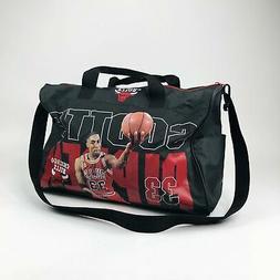 VTG NBA Chicago Bulls Scottie Pippen Duffle Gym Bag
