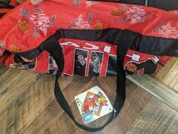 VTG Tasmanian Devil Chicago Bulls Duffle Bag 1990s Taz Loone