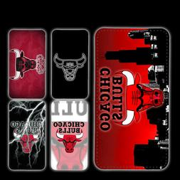 wallet case Chicago Bulls iphone 7 iphone 6 6+ 5 7 X XR XS M