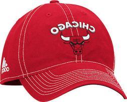 Women's Chicago Bulls Team Logo Slouch Adjustable Hat NBA Ad